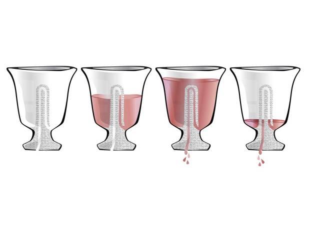 Ctesibius and the Tantalus Cup