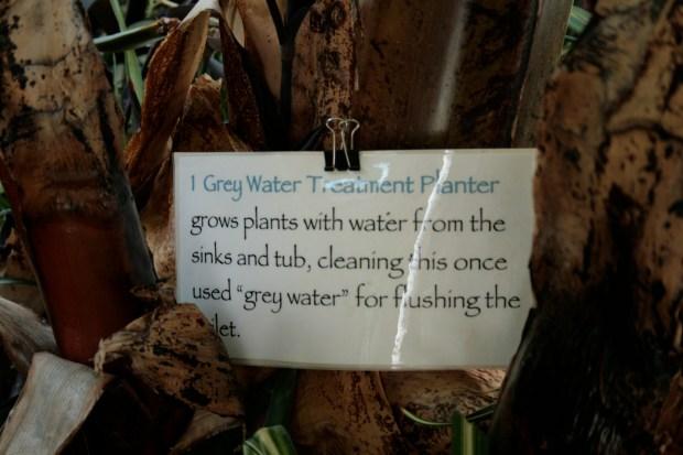 Earthship grey water planter. Photo: cc0 1.0, Victorgrigas