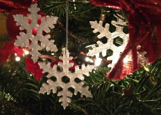 Christmas Snowflake Decoration by Nicholas Salmons