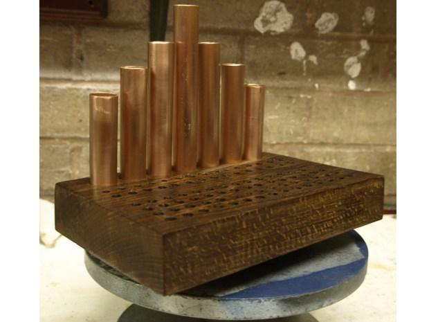 Copper Tube Mini-Tool Organizer