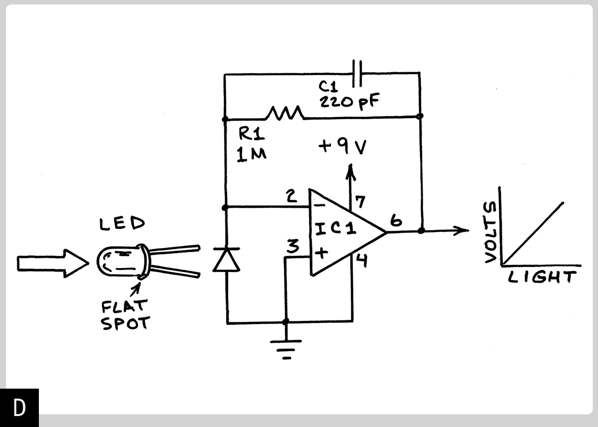 Photoelectric Switch Schematic