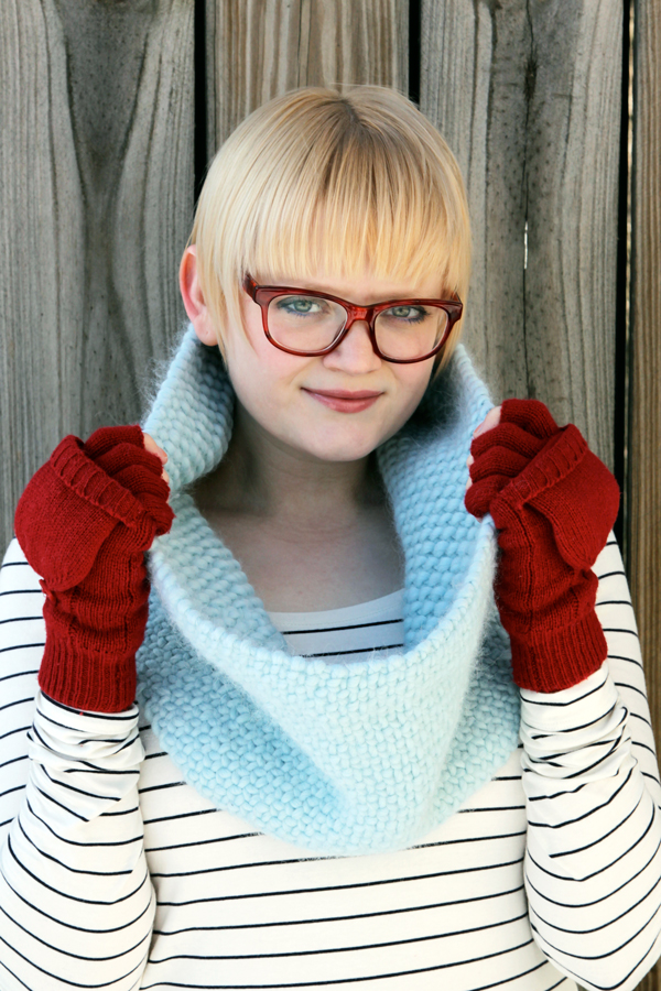 How-To: Super-Warm Faux Woven Knit Cowl