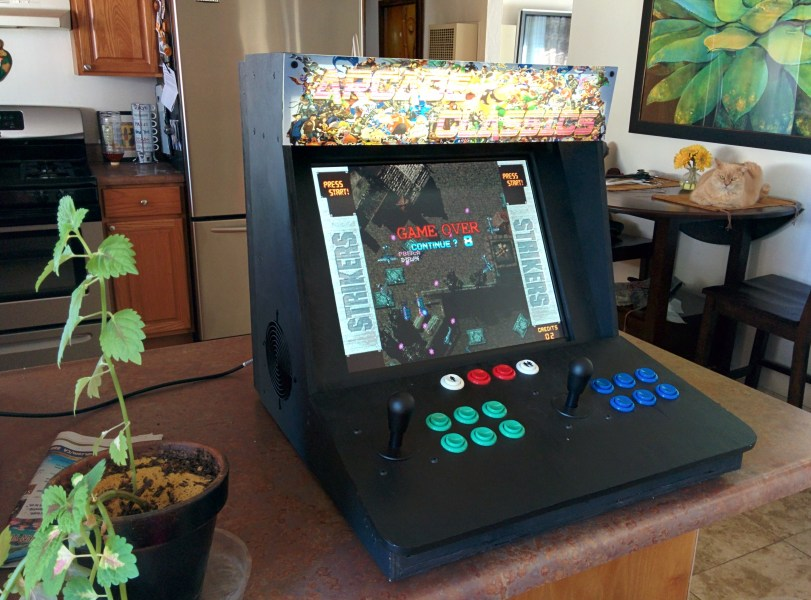 Make a Bartop Video Arcade from an Old PC   Make  Bartop Video Arcade from an Old PC