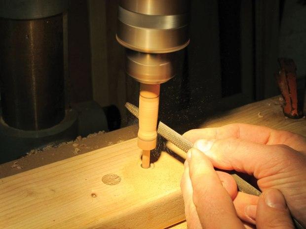 Use a Drill Press as a Lathe