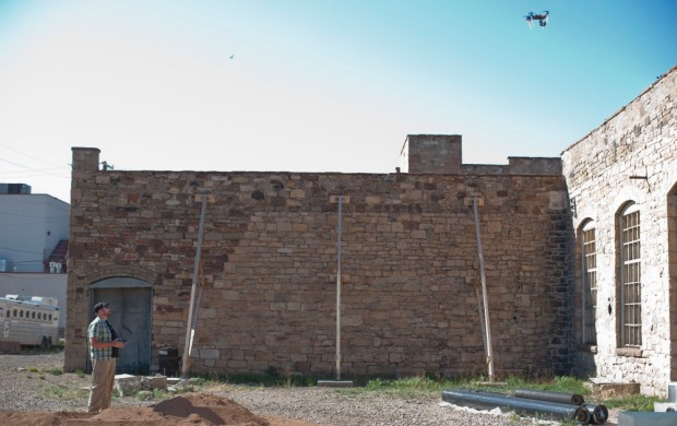 quadcopter photogrammetry