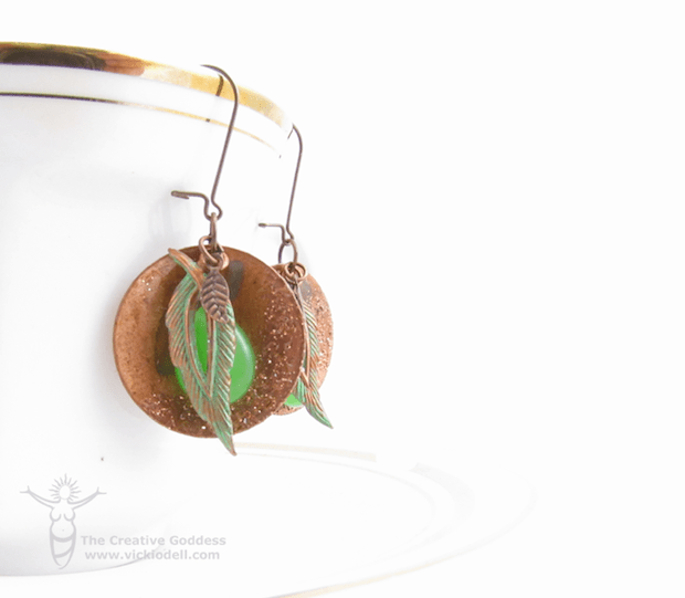 How-To: ICED Enamel Copper Earrings