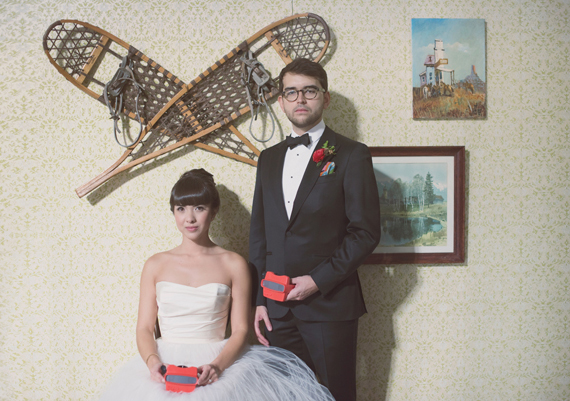 Inspiration: Wes Anderson Themed Wedding