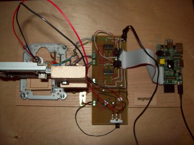 engravR: Build a Pi-Powered Laser Engraver