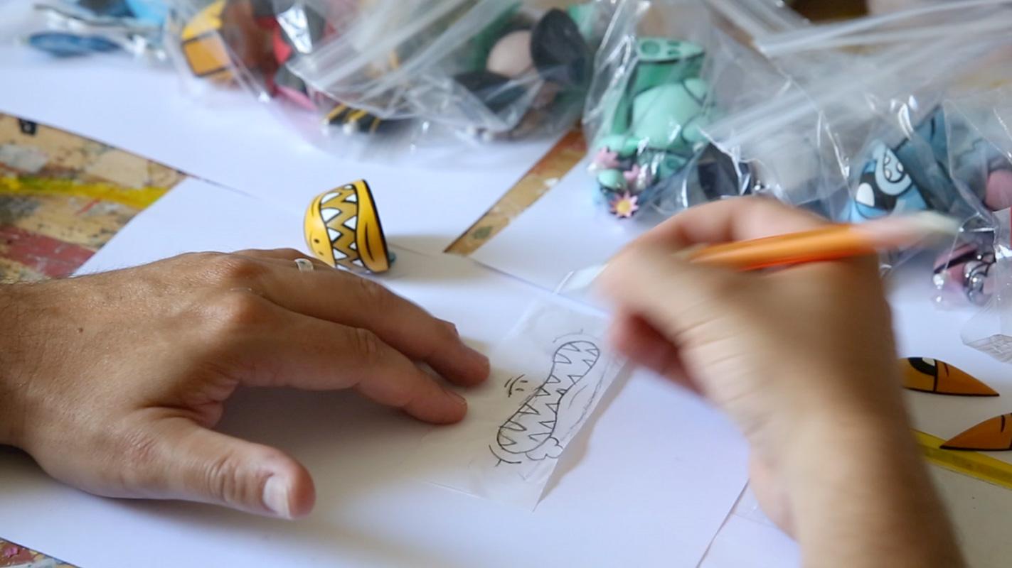 designing a vinyl toy with joe ledbetter
