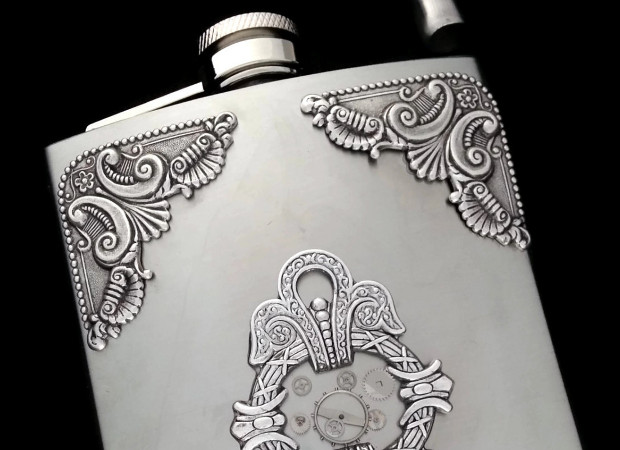 Flask by Dr. Brassy