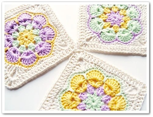 How To African Flower Granny Square Make