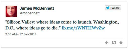 James McBennett Tweets
