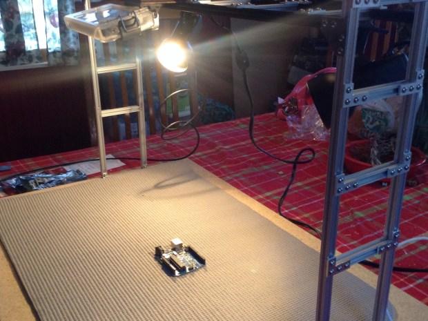 POV Workbench Filming Rig
