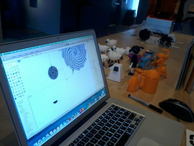 MAKE Author Carla Diana will walk visitors through the 3D design process.