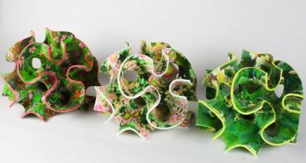 Full-color sugar 3D printing