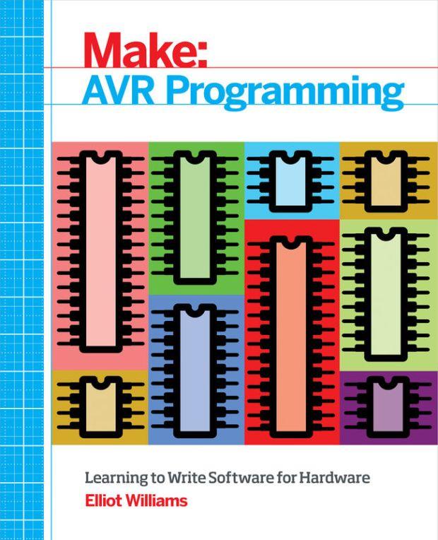 new avr programming book from make make