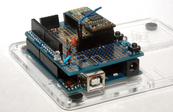 DIY Arduino Bluetooth Programming Shield | Make: