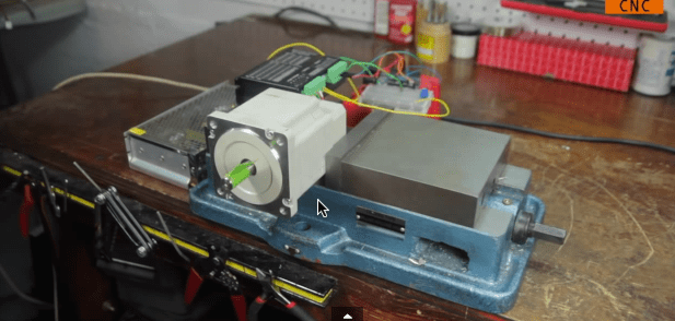 Driving Big Stepper Motors with Arduino | Make: on