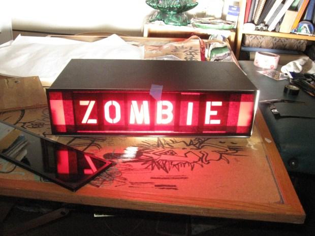 Hidden Message Zombie Detector