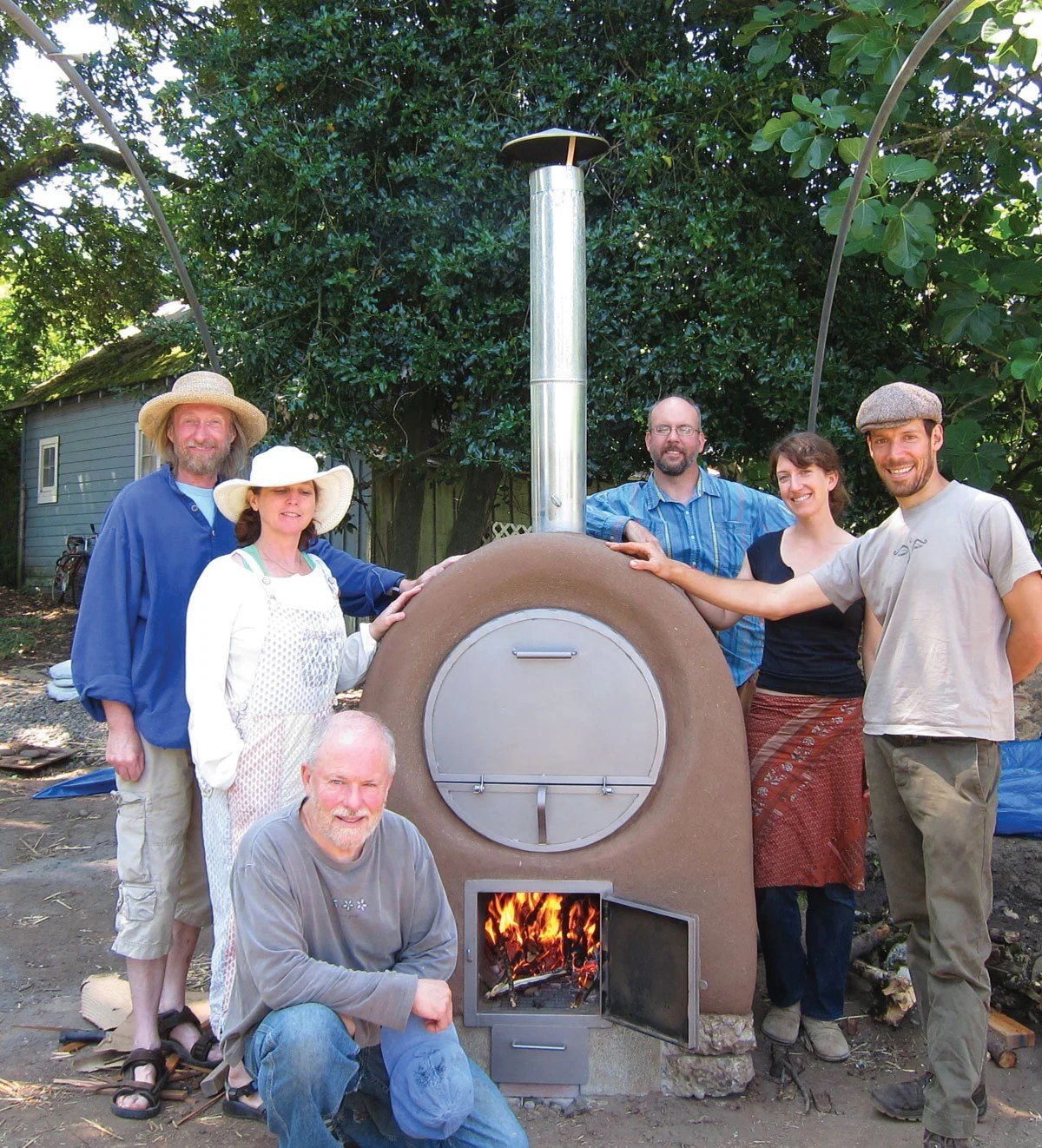 Build The Perfect Backyard Wood Fired Pizza Oven Make Rocket Stove Diagram Fireplace Earthen Pint