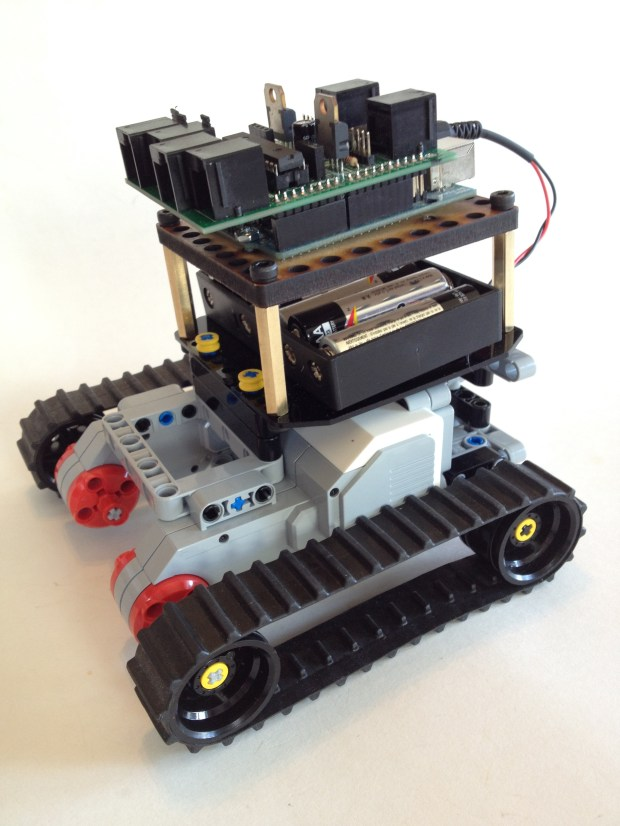 Bricktronics Mini Tank | Make: