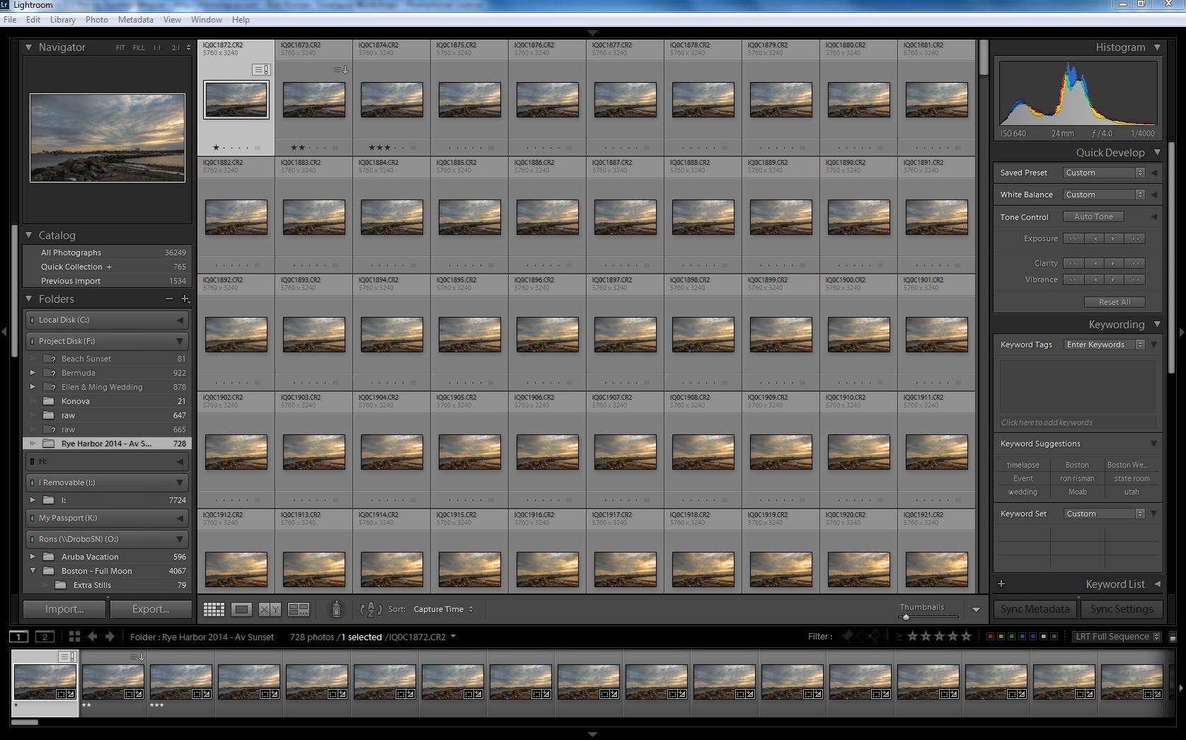 How to capture breathtaking time lapse photography of the night lightroom and select all the images in the folder by holding down the ctrl and a keys on your keyboard this action will highlight all of the images in nvjuhfo Images