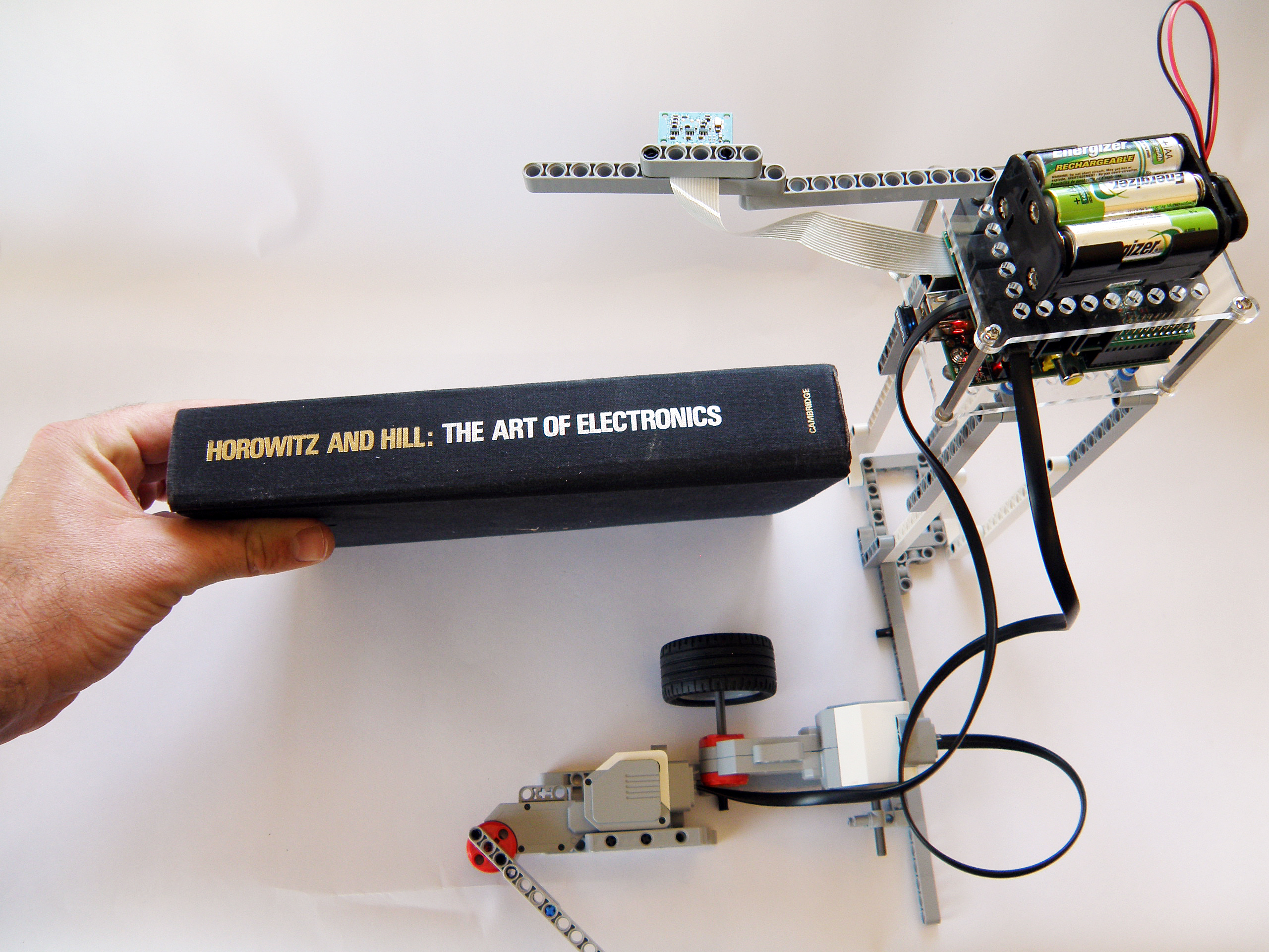 Digitize Books With Mindstorms And Raspberry Pi Make Diy Electrical Wiring We Read A Book Robot Made Of Lego