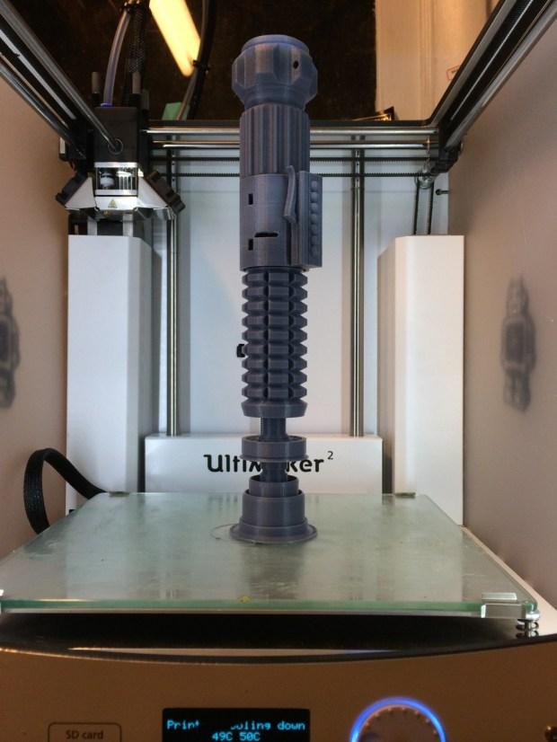 3d printed lightsaber