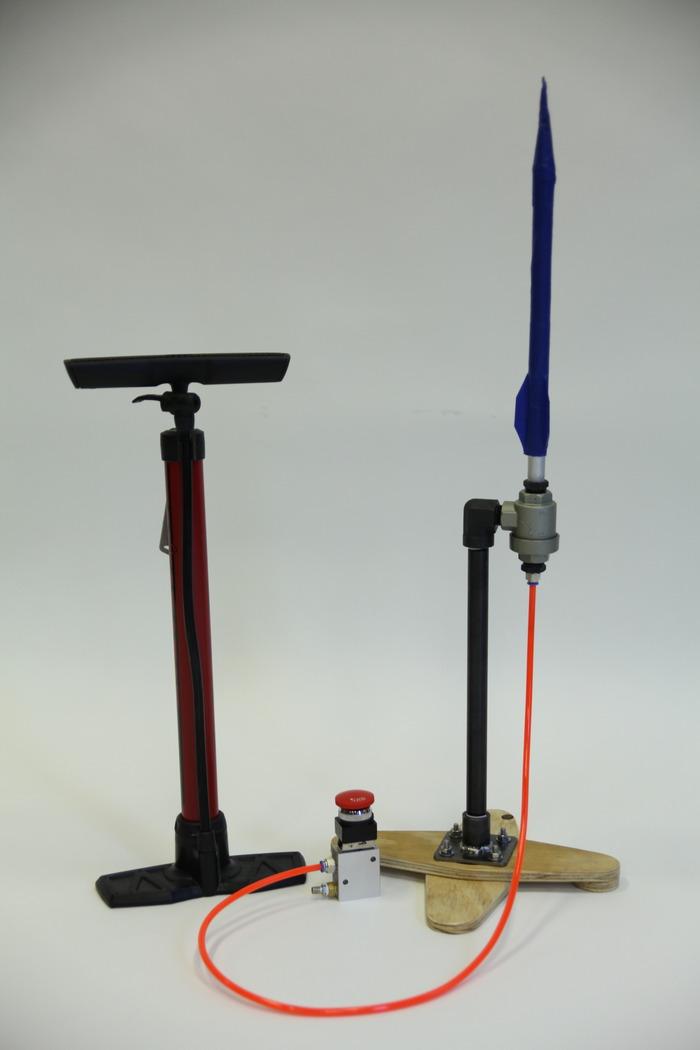 Air Rocket Glider and Air Rocket Launcher v2.0 | Make: