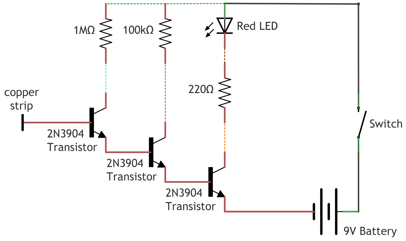 Ac Voltage Detector Circuit Diagram Marker Pulse Generator Tradeoficcom Non Contact Make