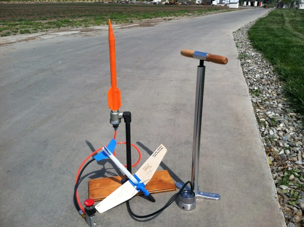 Air Rocket Glider and Compressed Air Rocket v2.0