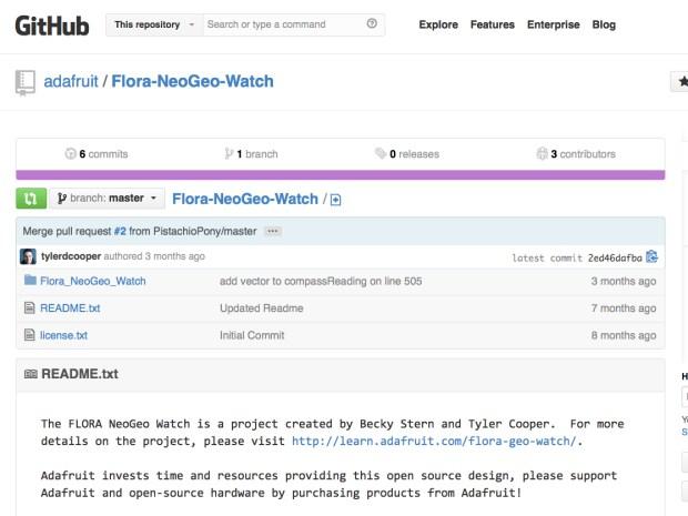 Flora NeoGeo Watch