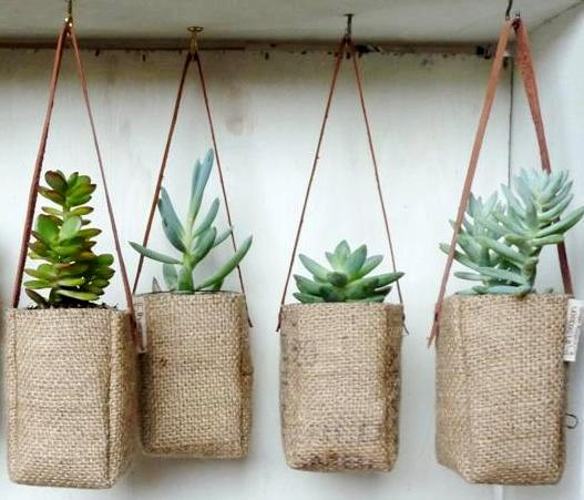 Upcycled-Coffee-Burlap-Planter-Bags-1