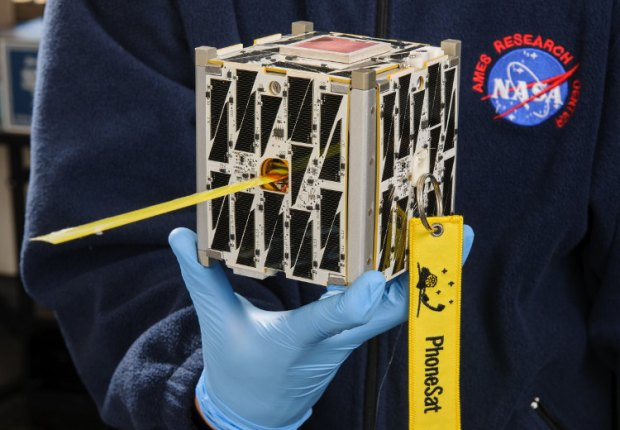 PhoneSat 2.5 launched onboard the SpaceX CRS-3 mission to the ISS.