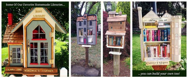 image courtesy of: Littlefreelibrary.org