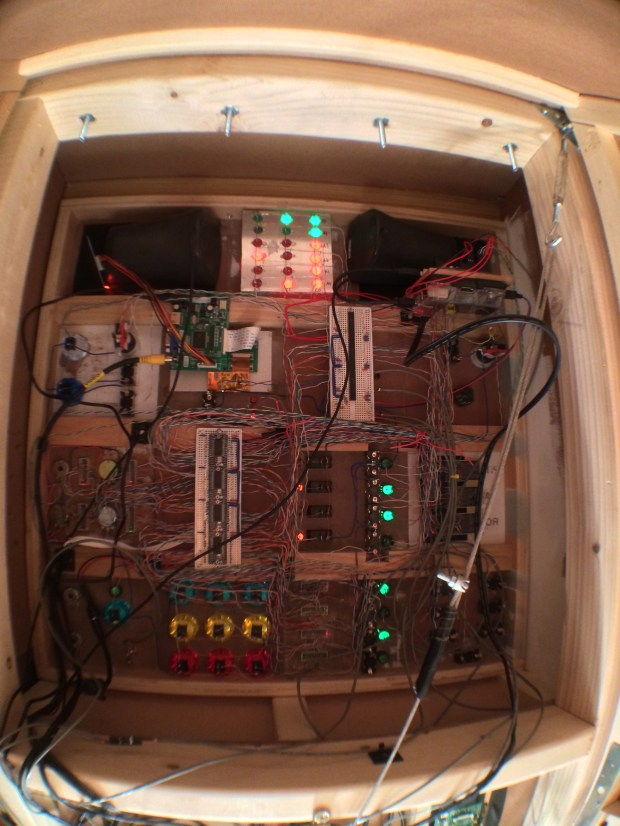 Back of Control Panel