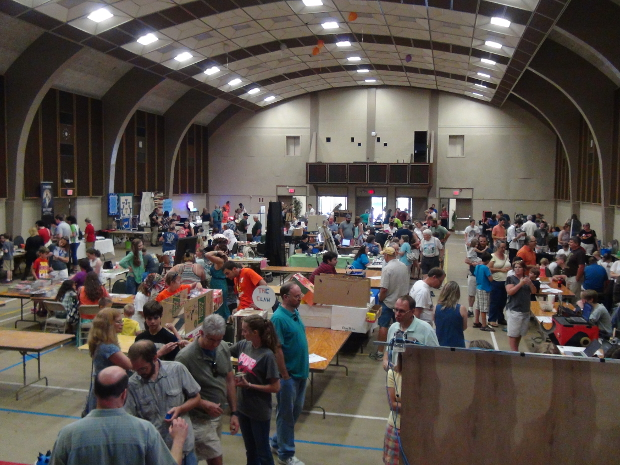 Kingsport Mini Maker Faire Floor