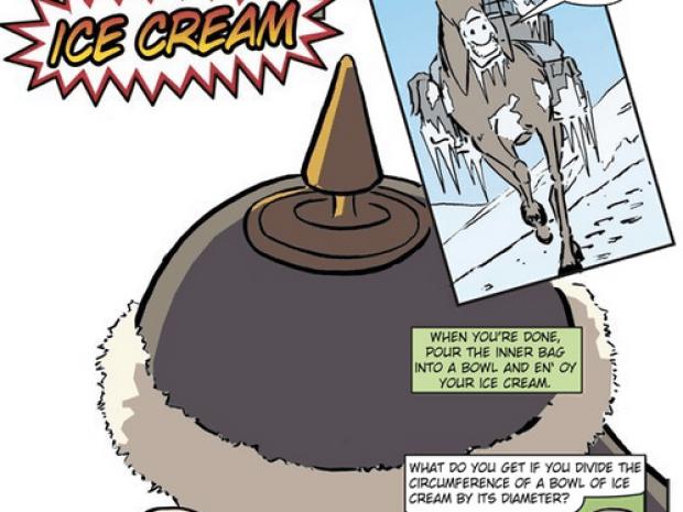 Howtoons Shake Ice Cream