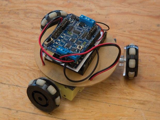 R/C Omniwheel Robot
