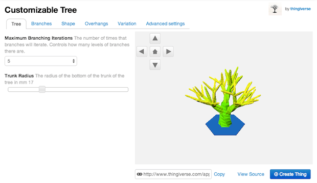 customizabletree