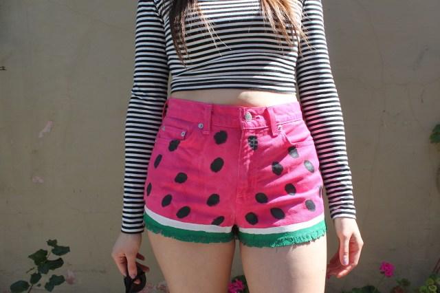 diy-watermelon-shorts-1