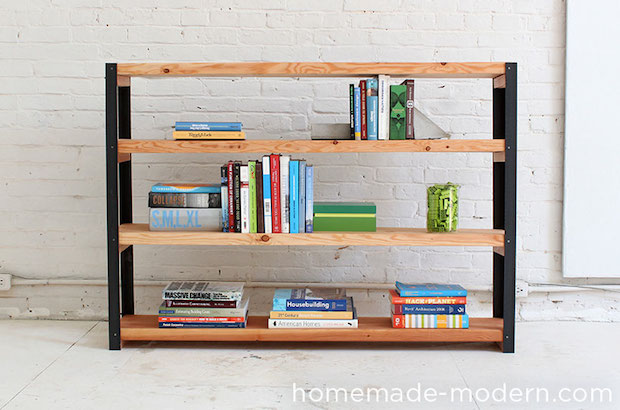 How-To: Ironbound Bookcase