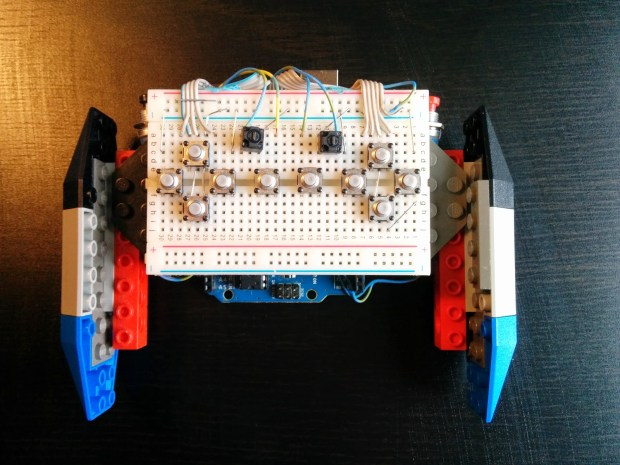 Strange Meadowlark's Lego/Arduino Game Controller: because one size does not fit all.