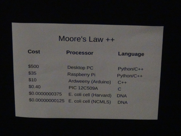 Moore's Law ++ (by NC Maker Peter Reintjes)