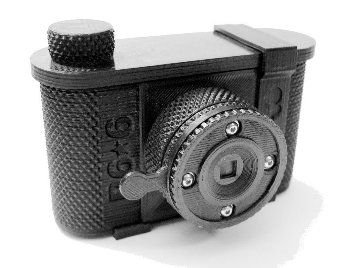 Maker Camp 3D Printed Pinhole Camera