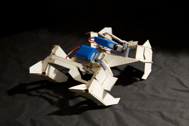 A self-assembling robot from researchers at Harvard and MIT.