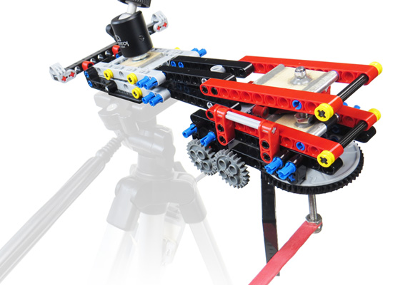 Barn Door Tracker Built With Lego Technic For Entry Level