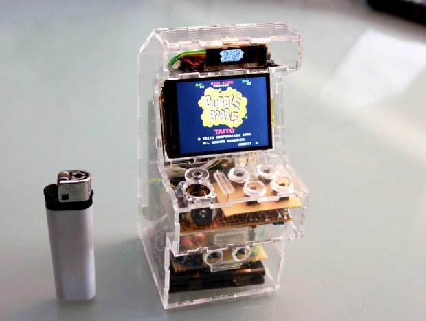 SpriteMods' Raspberry Pi Micro Arcade Machine puts an arcade machine in your pocket