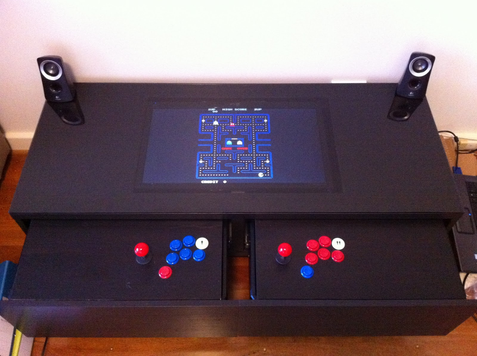 10 Diy Arcade Projects That Youll Want To Make Online Design Simulation Tools For Electrical Electronics Swangles Machine Coffee Table Because Why Stand When You Can Sit