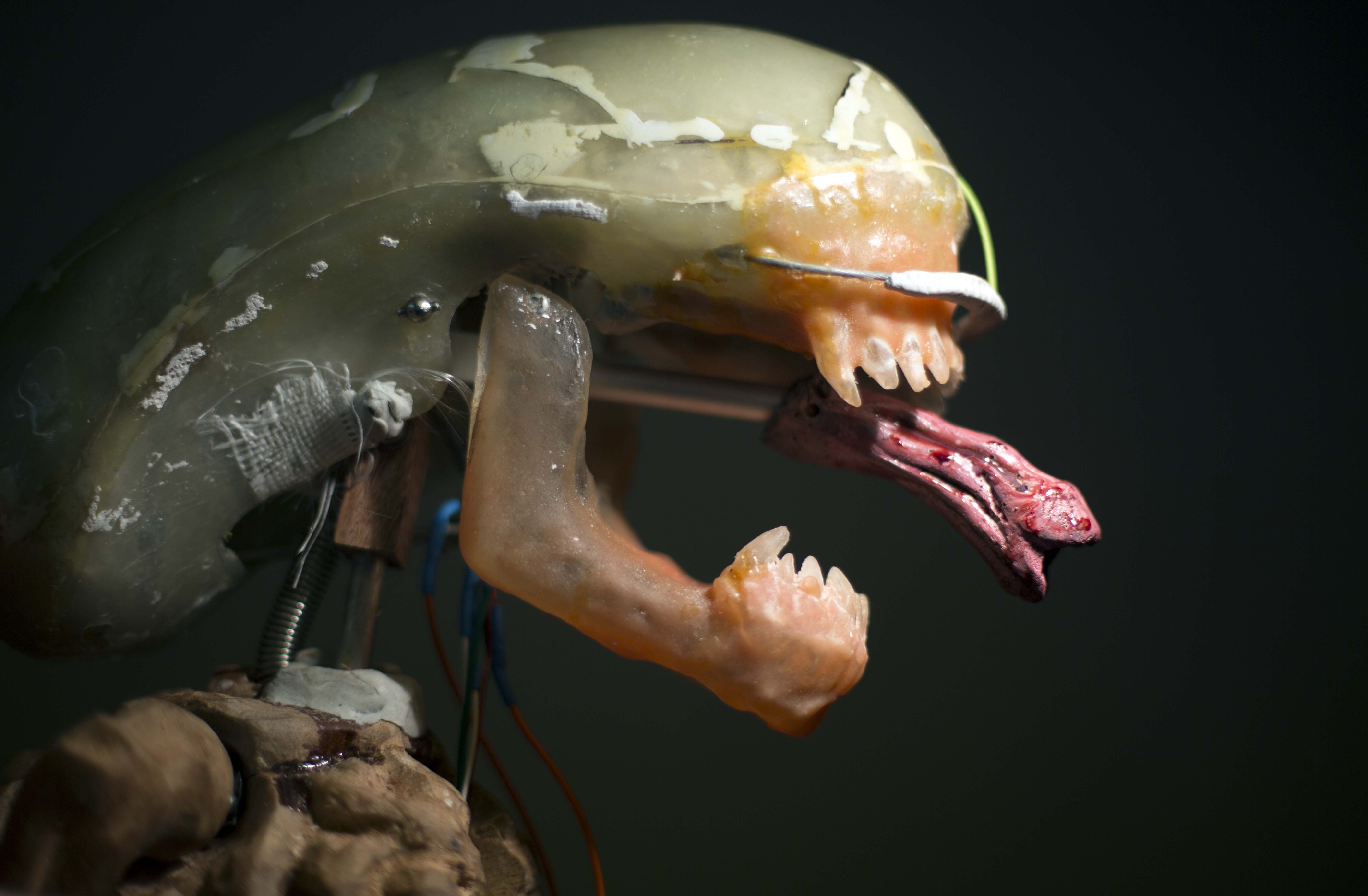 The Making Of An Animatronic Alien | Make: